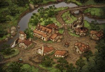 rpg eternity village town isometric concept map pillars update prototype obsidian version kickstarter fantasy maps villagers pe imgur diablo sanctuary
