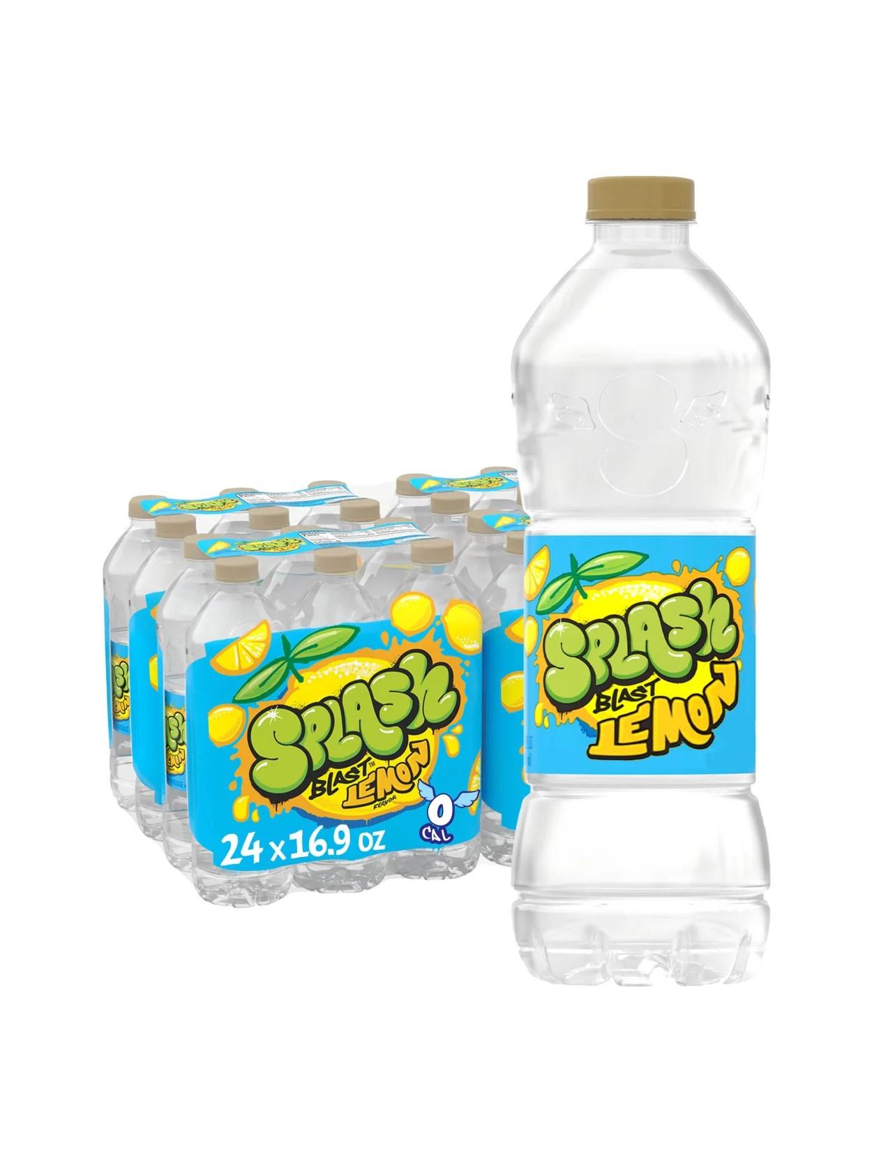 Is Nestle Splash Good For You : nestle, splash, Nestl, Splash, Natural, Lemon, Flavored, Water, Beverage, Bottles, Office, Depot
