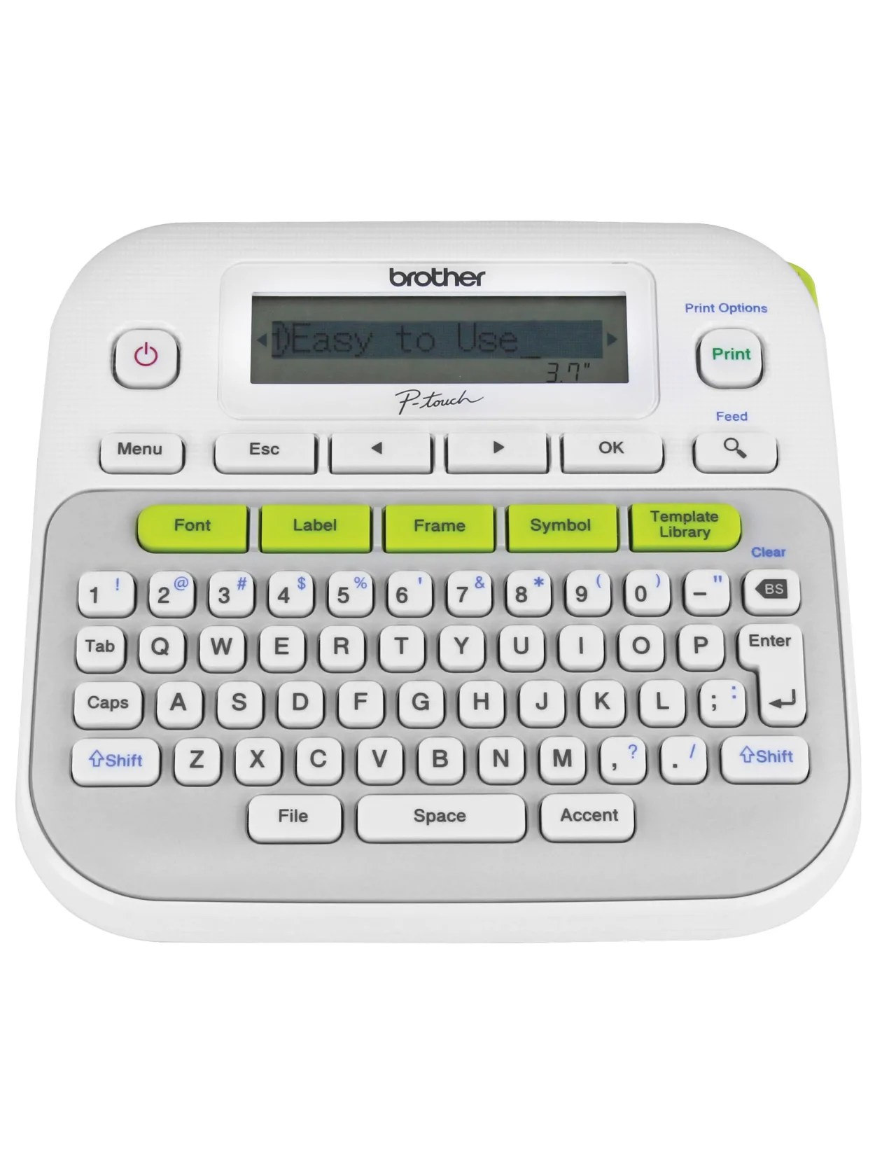Big Name In Label Makers : label, makers, Label, Maker, Graphic, Display, Fonts, Office, Depot