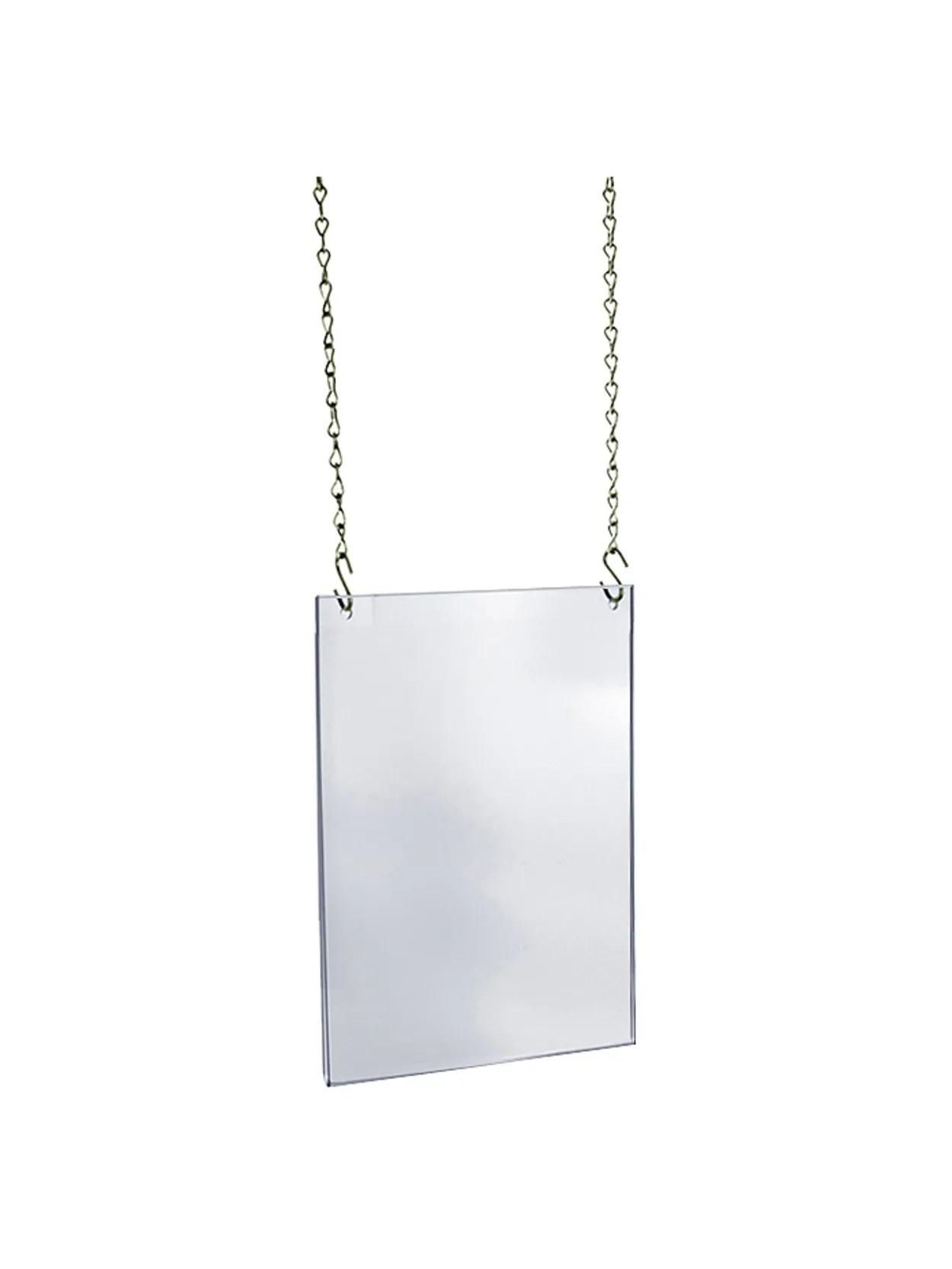 azar displays hanging poster frame ledger tabloid 11 x 17 clear item 7679119