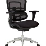 Workpro 12000 Mesh Mid Back Chair Black Office Depot