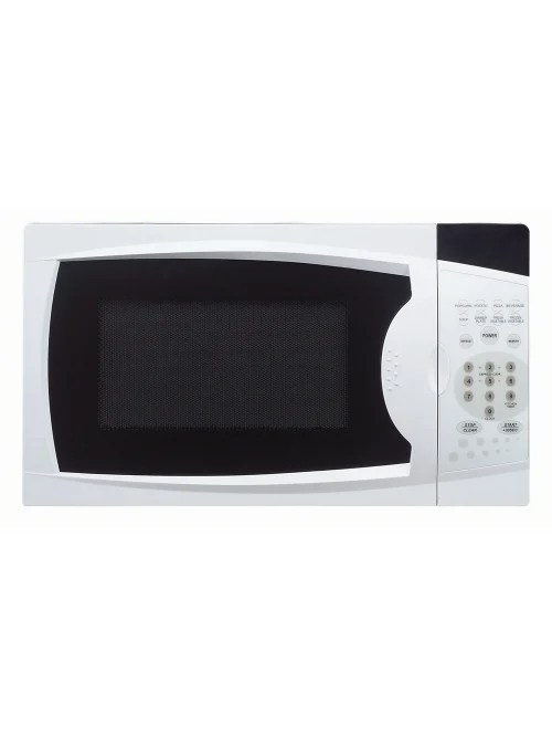 magic chef 0 7 cu ft countertop microwave oven single 5 24 gal capacity microwave 10 power levels 700 w microwave power glass