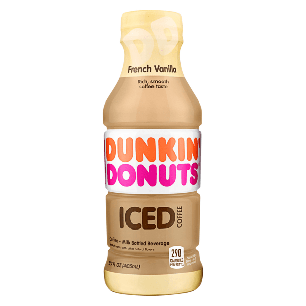 Get your morning pick-me-up, even when the temperature's rising. Cool, refreshing iced coffee delivers robust flavor that's a perfect anytime treat.  Enjoy a cool, refreshing beverage at any time.  Individual bottles for easy portability.  French Vanilla flavor tantalizes your taste buds.