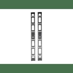 tripp lite 42u rack enclosure server cabinet vertical cable management bars 2 pack 42u rack height item 3388761