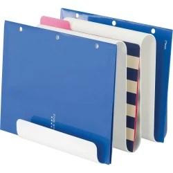 safco wave desk desktop file rack 9 5 height x 9 width x 9 3 depth desktop magnetic white steel 1 each item 9705783