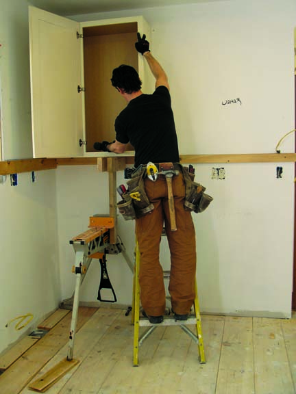How To Install Kitchen Cabinets  OldHouse Online  OldHouse Online