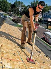 install faux slate roof