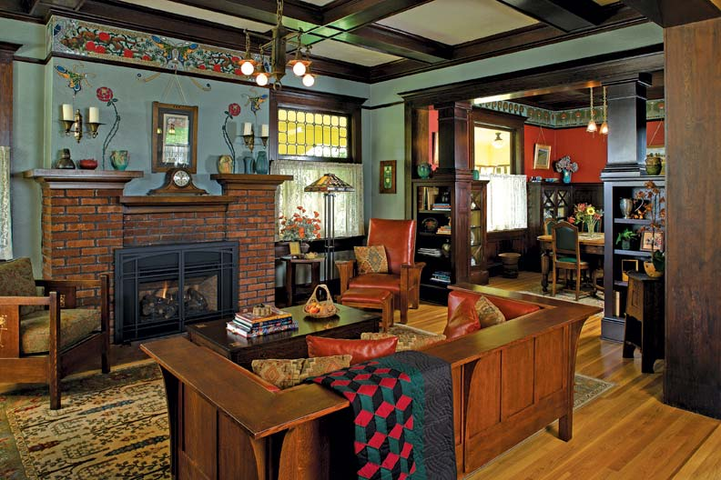 Arts And Crafts Home Interiors
