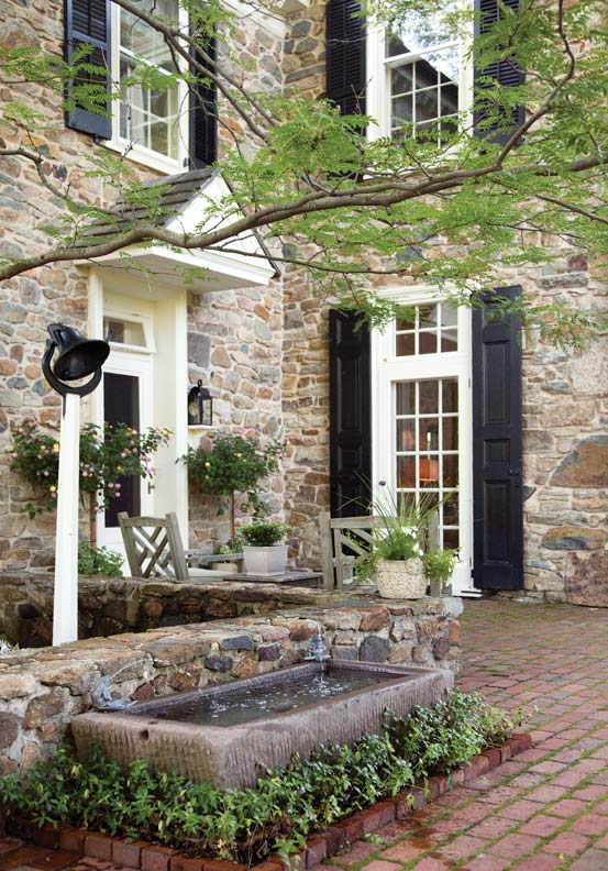 peter zimmerman farmhouse entrance