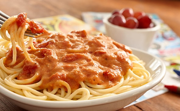Five Cheese Marinara with Choice of Pasta | Lunch & Dinner ...