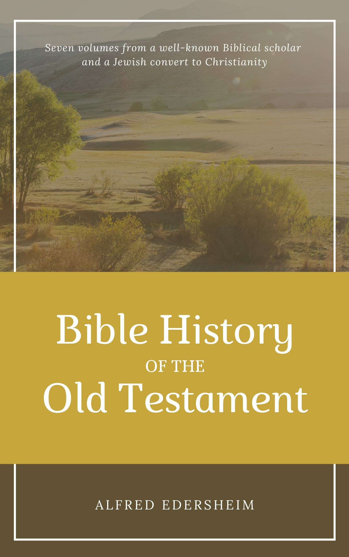 Bible History Of The Old Testament 7 Vols By Alfred