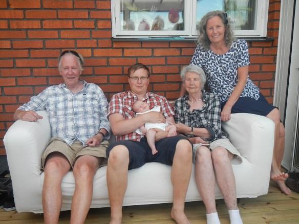 Fyra generationer Olofsson