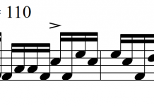 An Epic Drum Fill: 3-4-3-3-3