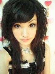 selected cute hairstyle bangs