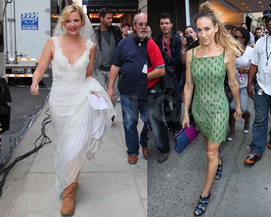 Photos Of Sarah Jessica Parker And Kim Cattrall In A