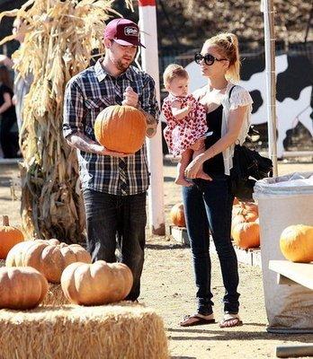 joel and nicole pumpkin patch