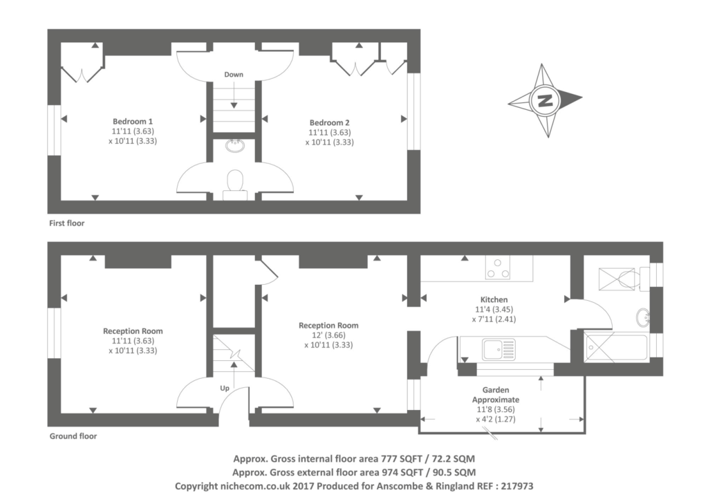 Clematis Cottage, Totteridge Village, N20 2 bed detached