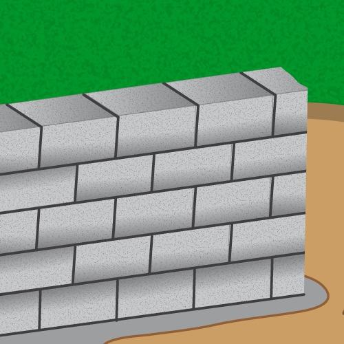 monter un mur en parpaing mur