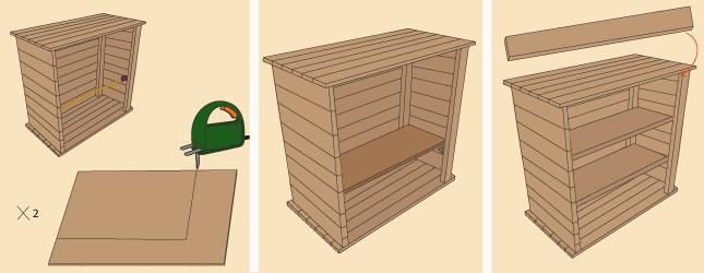 comment fabriquer une commode en palette