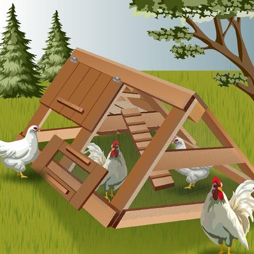 Construire Un Poulailler En Palette Ooreka