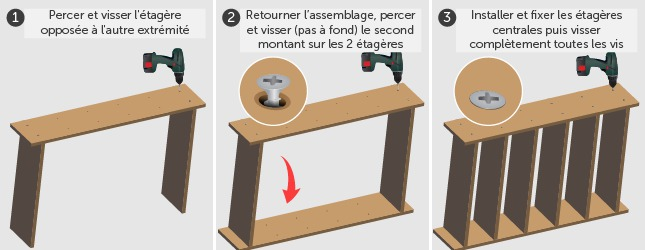 comment fabriquer une etagere en bois