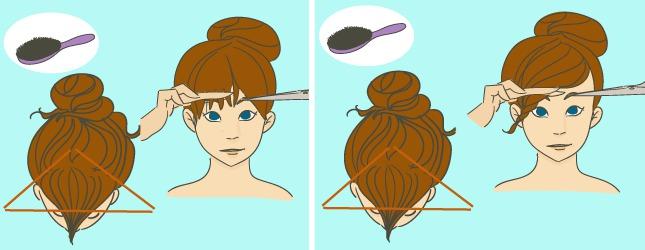 Se Couper Les Cheveux Soi Meme Carré Plongeant Court | Dlhumourd