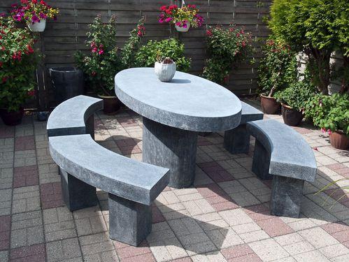 salon de jardin en pierre ooreka