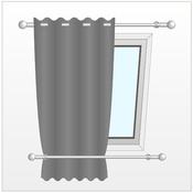 Installer un rideau sur une fentre de toit  Rideaux