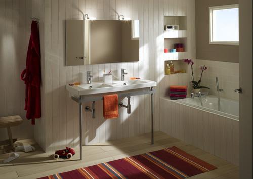 salle de bain en kit principe