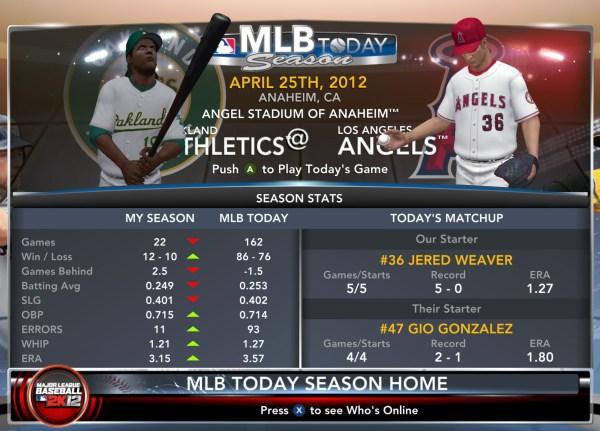 Major League Baseball 2k12 Screenshot 22 Xbox 360 Imgurl