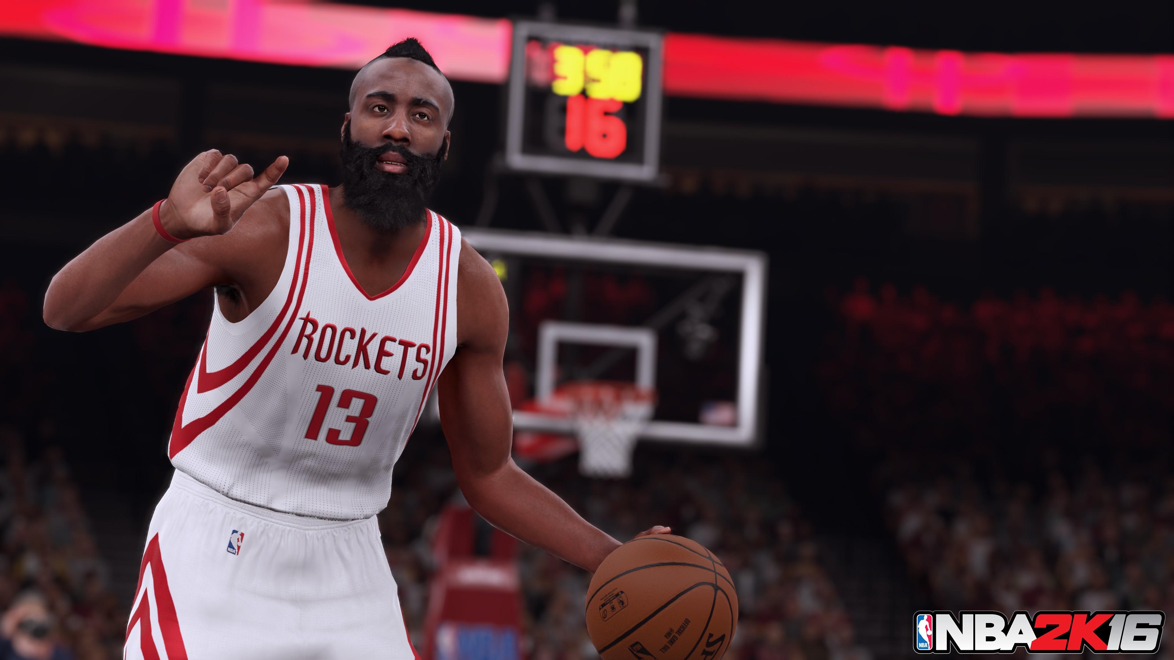 NBA2K16 Stephen Curry James Harden Anthony Davis