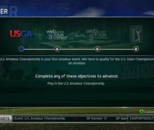 Tiger Woods Pga Tour 14 Gameplay Designer Justin Patel Has Posted A New Developer Blog On Career Mode If You Create A Female Golfer You Can Choose Which