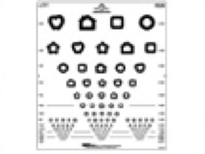 Patti Pics™ 15 Line Folding Chart from Precision Vision