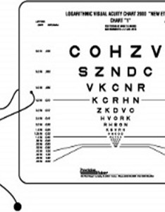Sloan two sided etdrs near point test also visual acuity charts vision chart optometryweb rh
