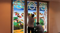 Valley Catholic School's stained glass windows pay homage ...