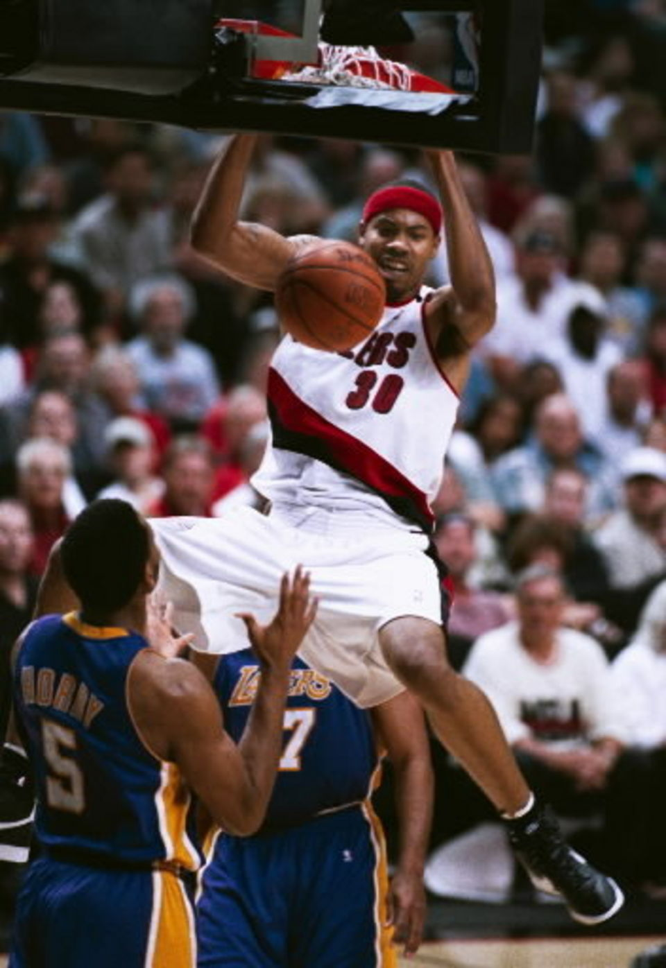 Image result for rasheed wallace blazers