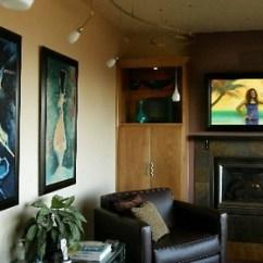 Living Room Fireplace And Tv Interior Design Best Rated Furniture Big-screen Decorating Solutions | Oregonlive.com