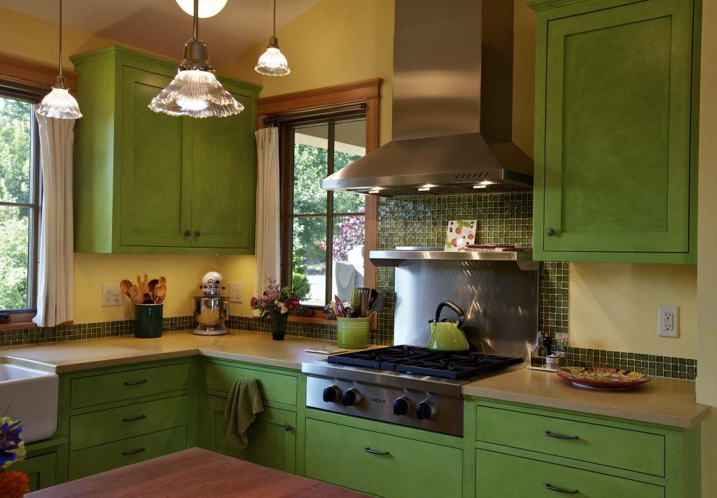Interior design news Colorful kitchen a Victorian