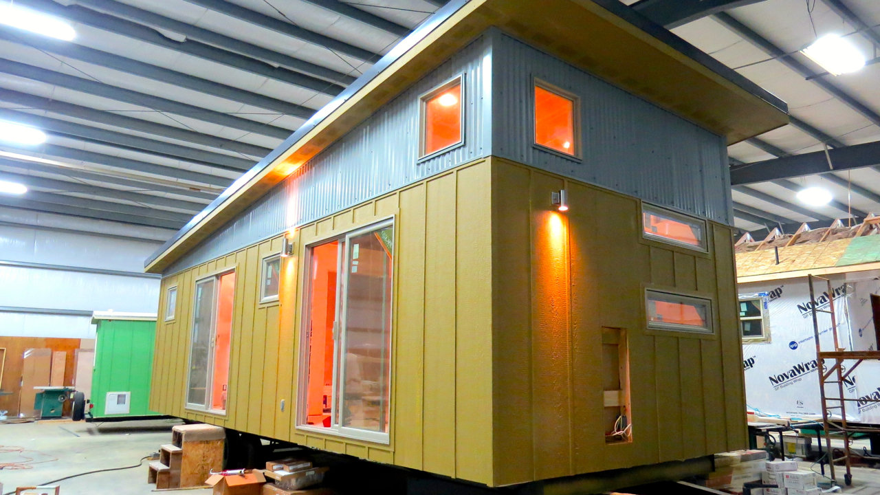 Tiny House Debuts At The Home & Garden Show OregonLive Com