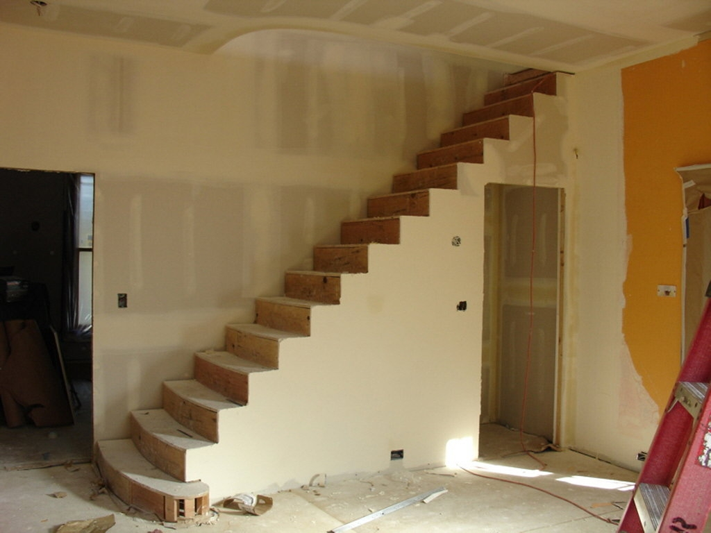 Taking A Giant Step Sometimes Moving The Staircase Is The Right | Split Level Entry Stairs | Wood | Half Wall | Stairwell | Raised Bungalow | Interior