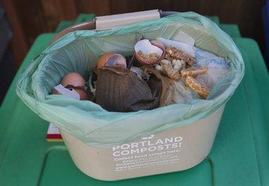 Wrestling with waste Portlanders focus on reducing trash  OregonLivecom