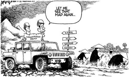Cartoons: Hey fellas, should have asked for directions