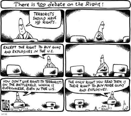 Cartoons: Pink slips for teachers, raising Arizona, guns