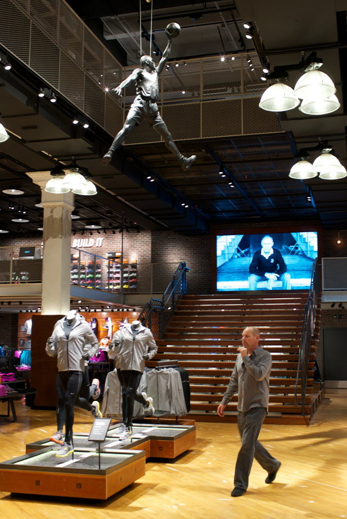 Nike Portland Opens Downtown Store Thats Half Museum
