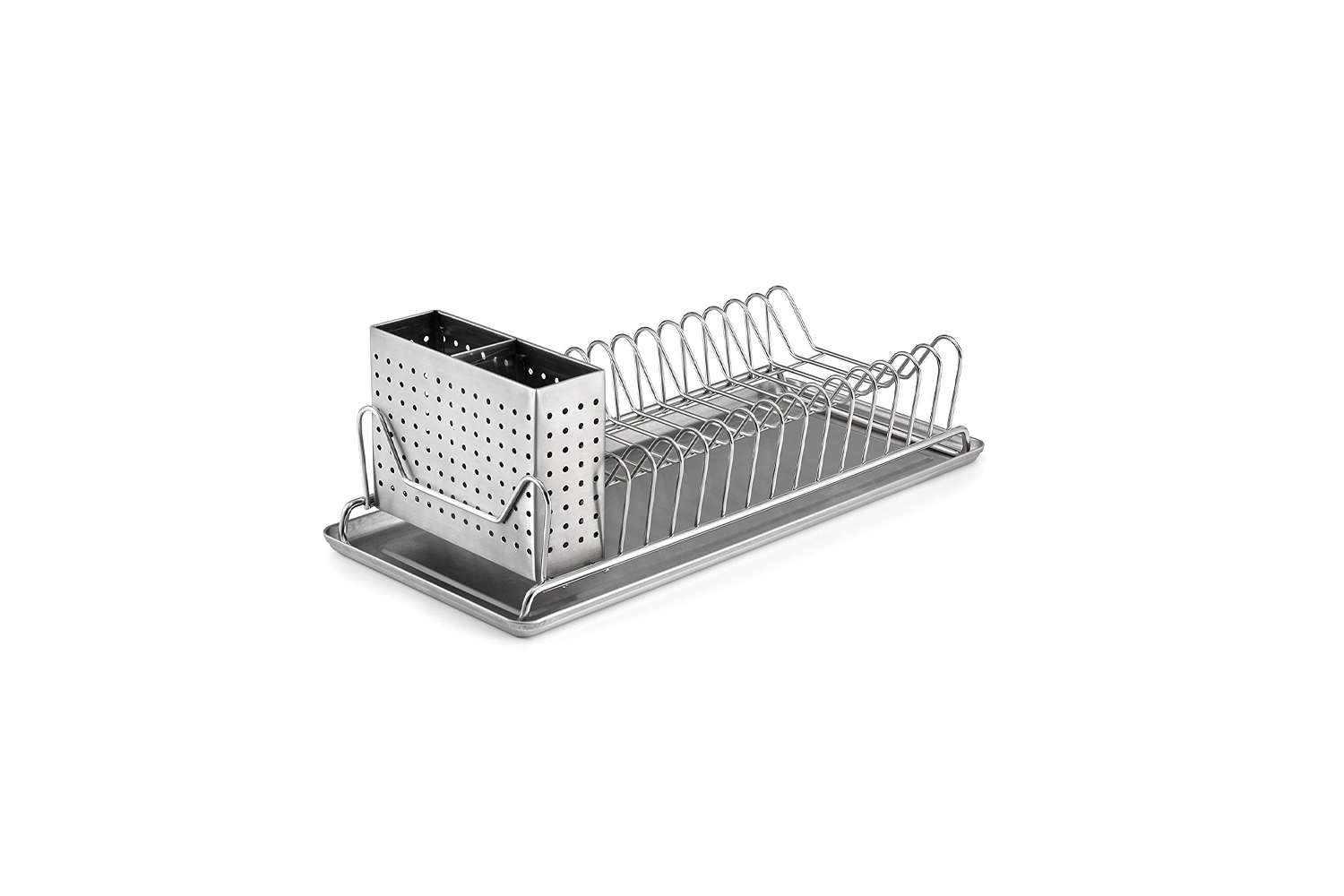 space saving dish rack for small kitchens