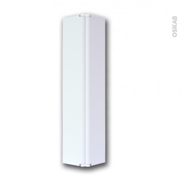 raccord de plinthe de cuisine jonction d angle ou droite hauteur 15 cm blanc mat sokleo