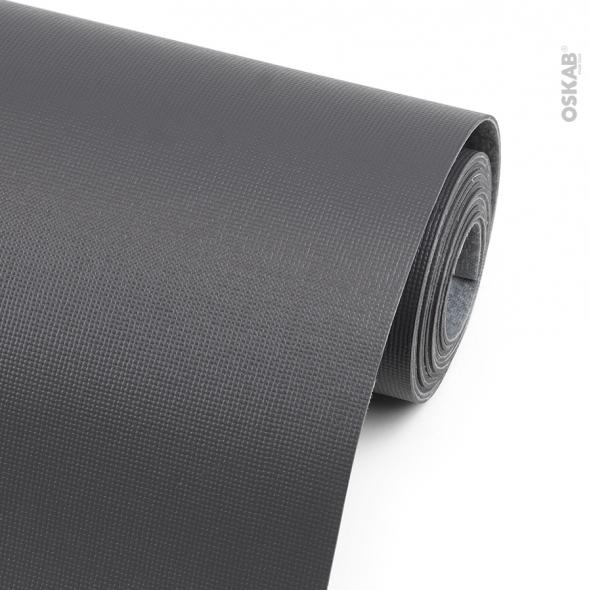 tapis de protection pour tiroir de cuisine anti derapant gris anthracite 150 x 50 cm sokleo