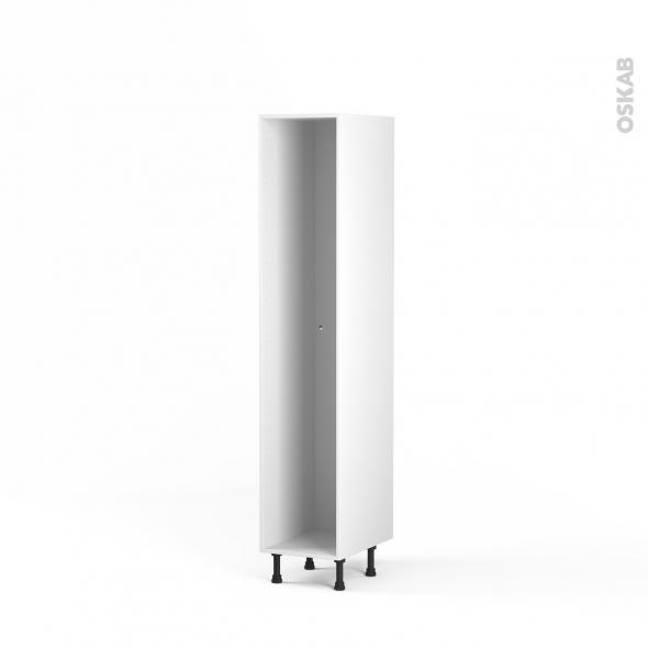 caisson colonne n 27 armoire de cuisine l40 x h195 x p56 cm sokleo