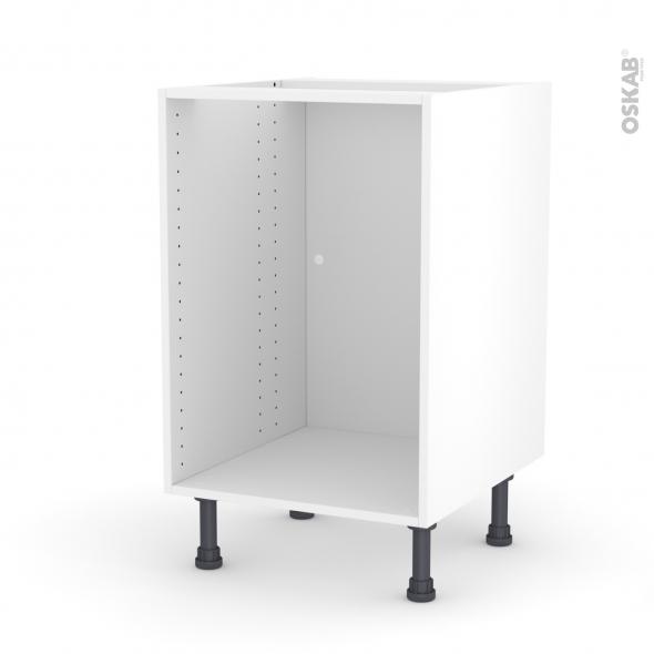 caisson bas n 6 meuble de cuisine l50 x h70 x p56 cm sokleo
