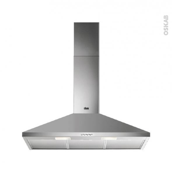 hotte de cuisine aspirante pyramide 90cm inox faure fhc92462xa